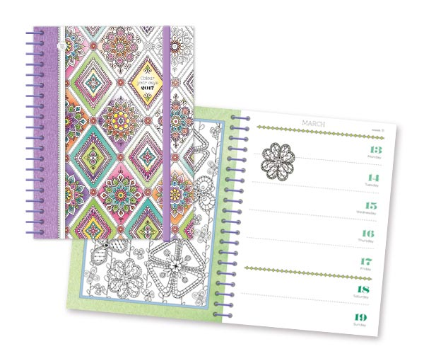 colour your days diary 1