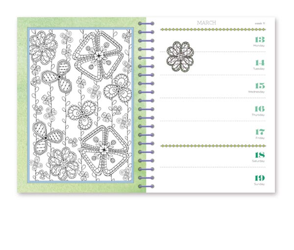 colour your days diary 2